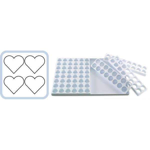Mini-Portion Fabrirapide Mould - Heart