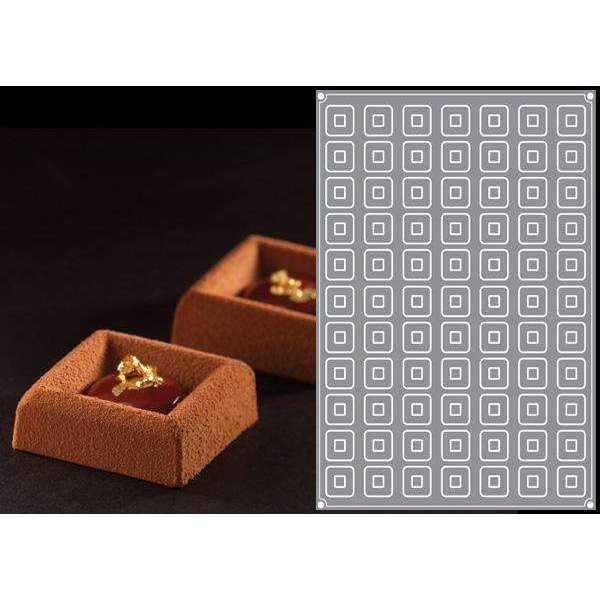 Moule en silicone Mini Square Savarin