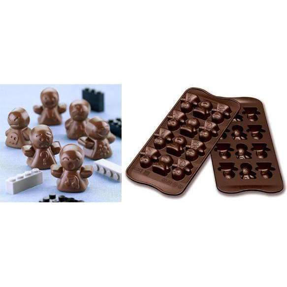 Moody Caractacters Chocolate Silicone Mould