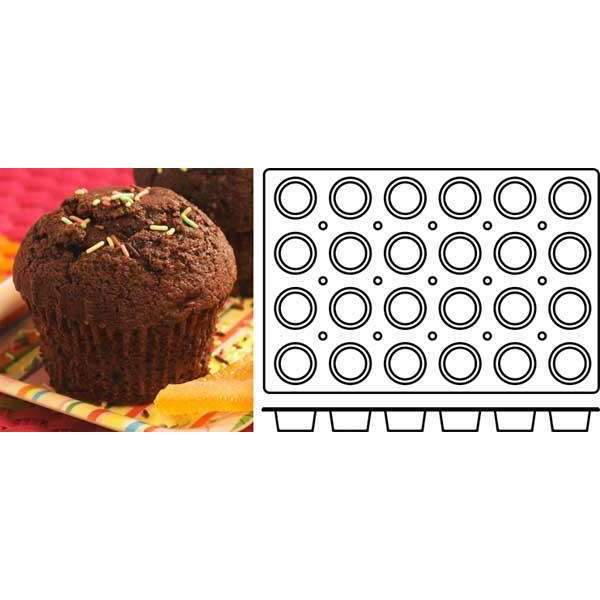 Muffins Silicone Mould - Ø 70 mm