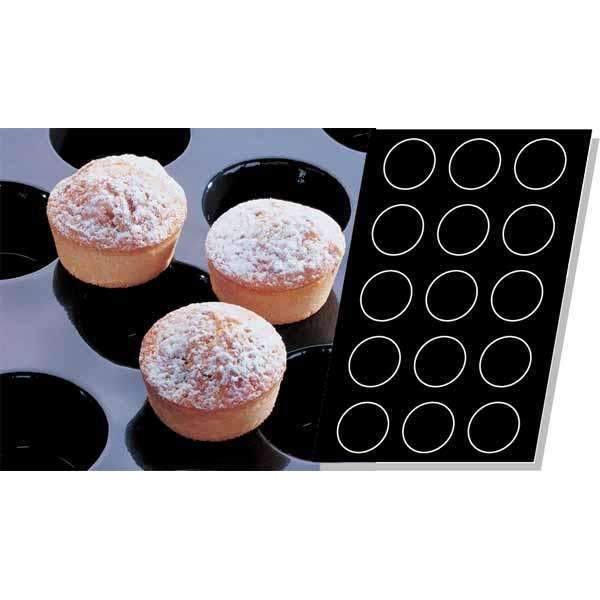 Muffins Silicone Mould - Ø 91 mm