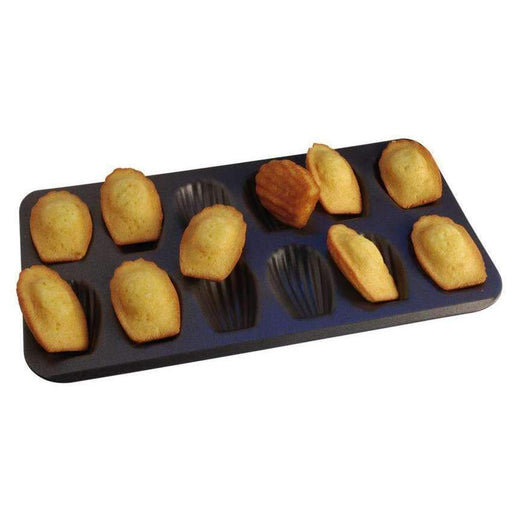 Non-Stick Madeleine Stamped Sheet Moulds