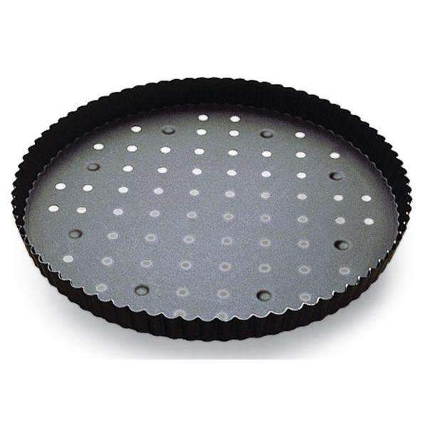 Non-Stick Perforated Quiche Pans