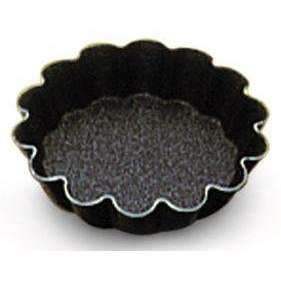 "Non-Stick ""Petit Fours"" Fluted Round Moulds"