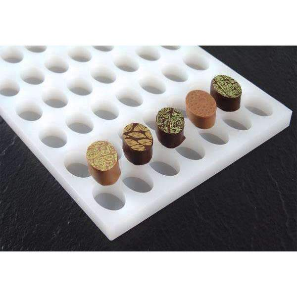 Oval Bonbon Chocolate Silicone Mould