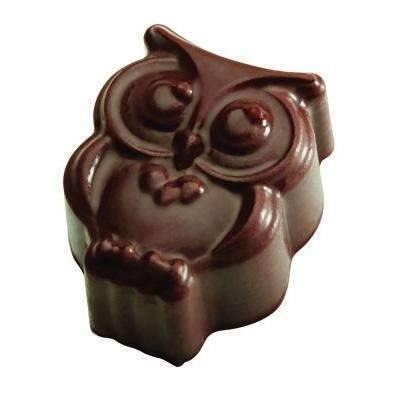 Owl Chocolate Mould