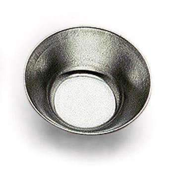 """Petit Fours"" Deep Plain Round Heavy Tin Moulds"