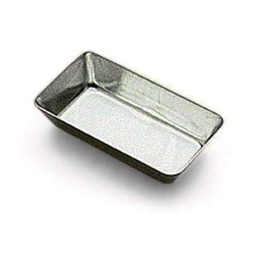 """Petit Fours"" Plain Rectangle Heavy Tin Moulds"