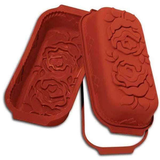 Plum Cake Rose Silicone Mould