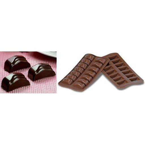 Moule en Silicone Chocolat Jack Rectangle