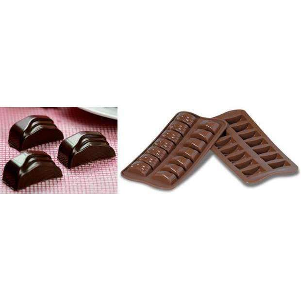 Rectangle Jack Chocolate Silicone Mould