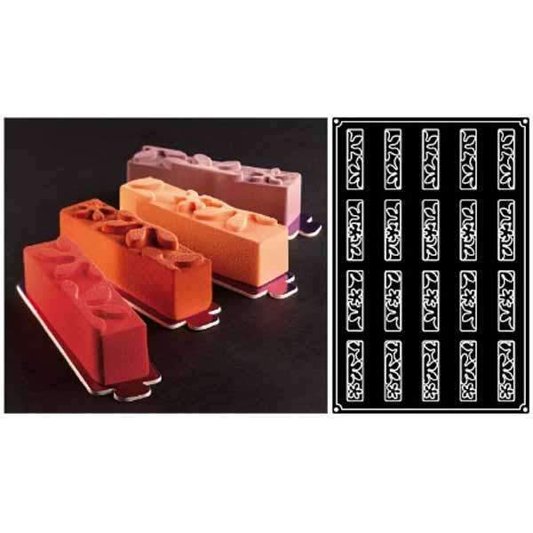 Rectangular Bouquet Silicone Moulds