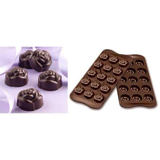 Rose Chocolate Silicone Mould