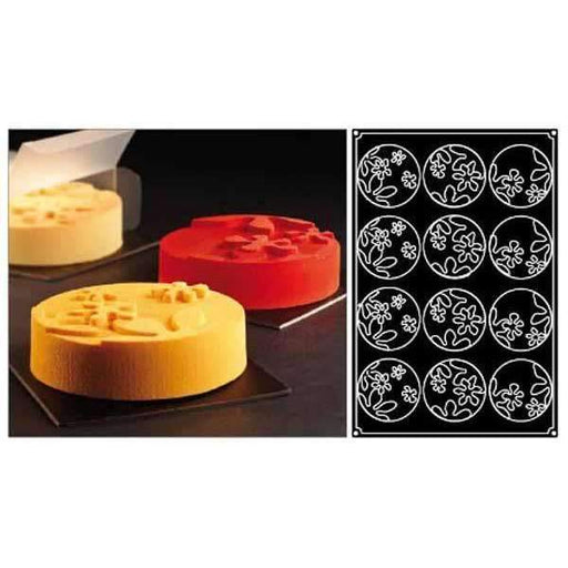 Round Bouquet Silicone Moulds
