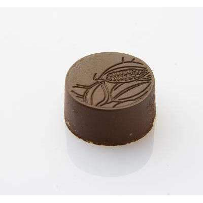 Round Cocoa Bean Chocolate Mould