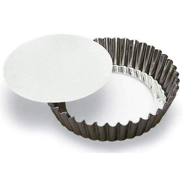 Round Fluted Cake Heavy Tin Moulds