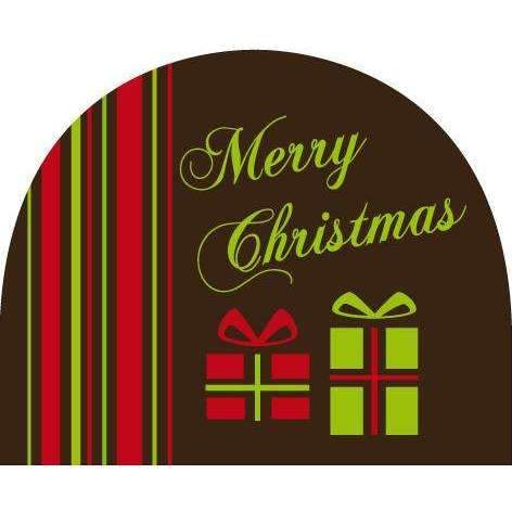 Round Log End Transfer Sheets - Christmas Gifts