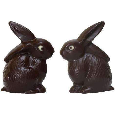 Seated Bunny Chocolate Moulds