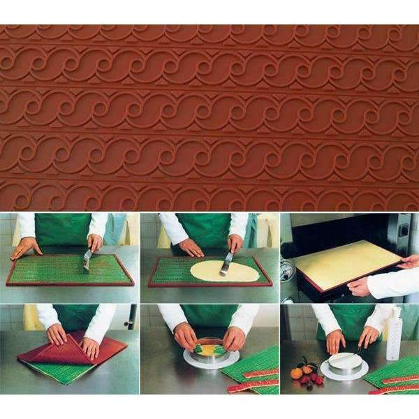 Silicone Relief Decor Mat - Fregio