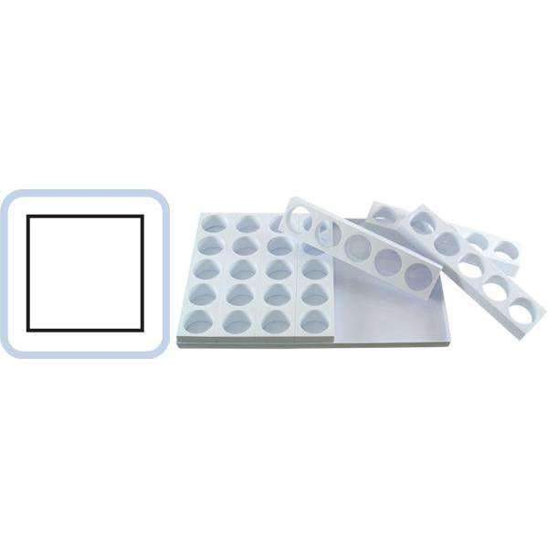 Single Portion Fabrirapide Mould - Square