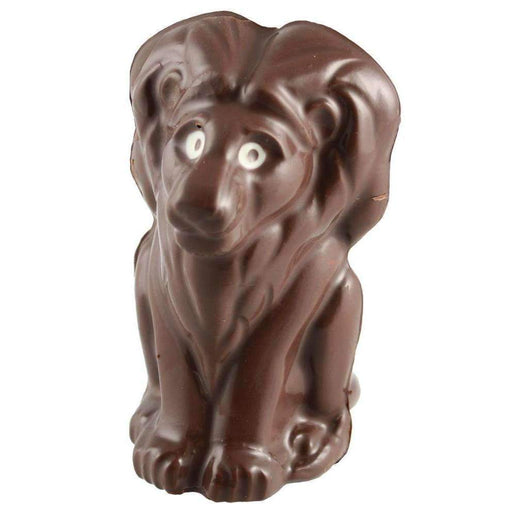 Moule thermoformé au chocolat Lion assis