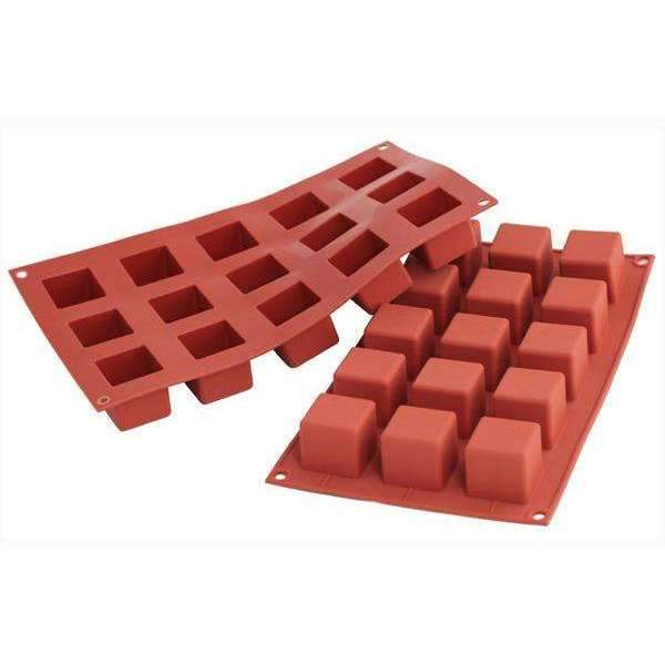 Silikomart™ Small Cube Silicone Mould