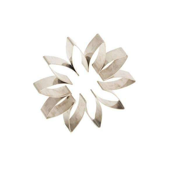 Small Cutters Set Plain Gerbera Daisy Flowers
