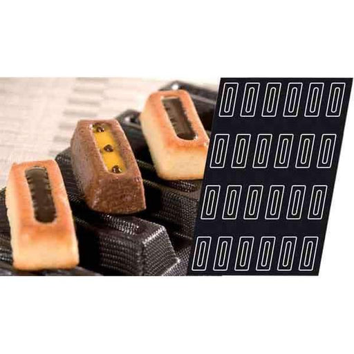 Moule Silicone Petit Rectangle Savarin