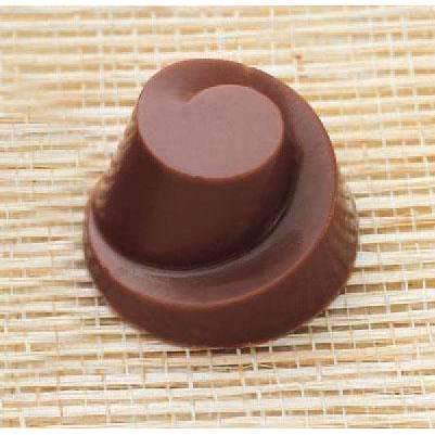 Spiral Round Bonbon Chocolate Mould