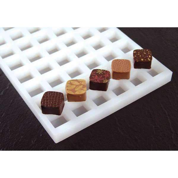 Square Bonbon Chocolate Silicone Mould
