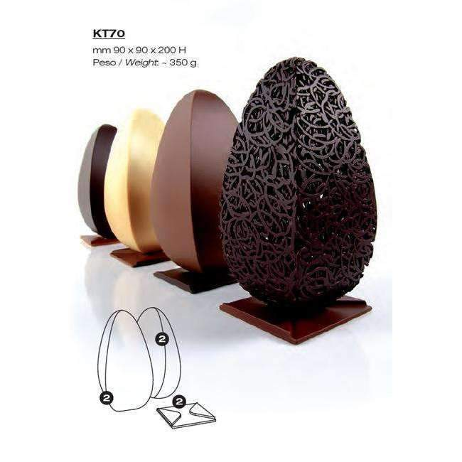 Square Egg Kit Chocolate Mould