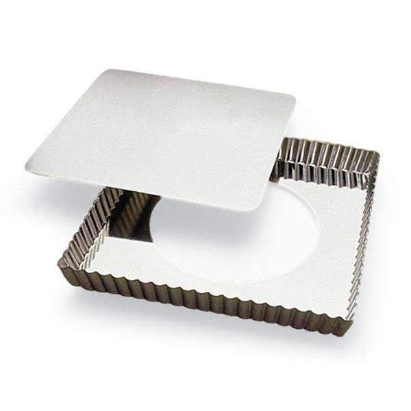 Square Tart Mould with Loose Bottom