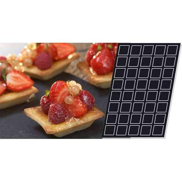 Squares Tartlets Silicone Mould