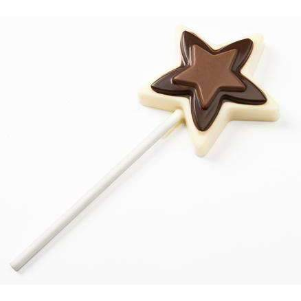 Star Lollipop Chocolate Mold