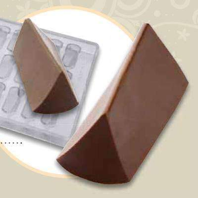 Streched Triangle Bonbon Chocolate Mould