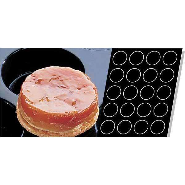 Tatin Apple Tarts Silicone Mould Ø 82mm