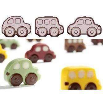 Tiny Cars Chocolate Mould