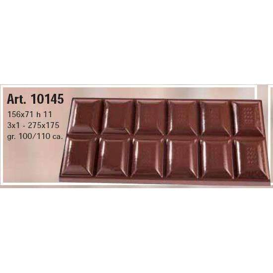 100g Wavy Line Decor Bar Chocolate Mould