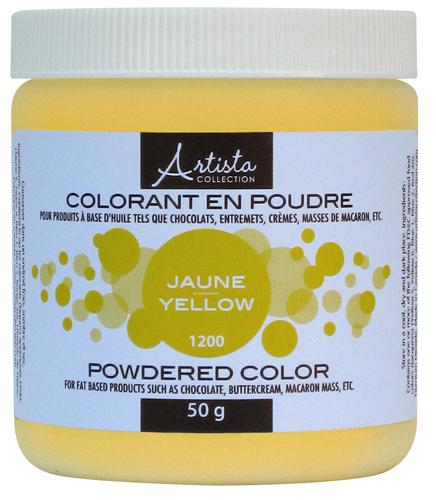 Yellow Powdered Color