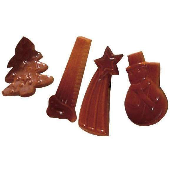 Yule Log Decorations Chocolate Mould