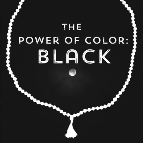 Correspondences and meanings of the color black