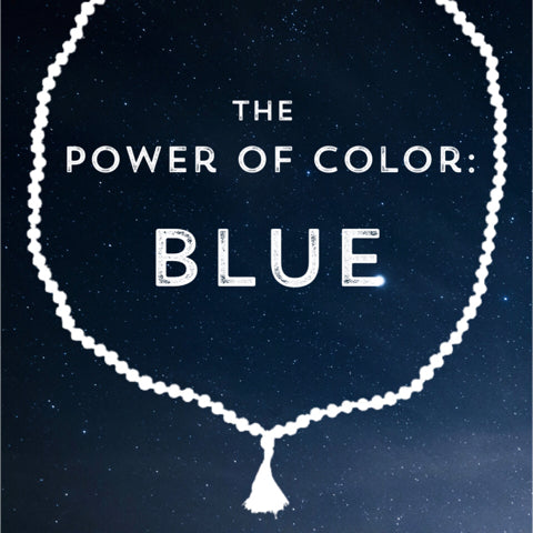 Correspondences and meanings of the color blue