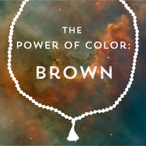 Correspondences and meanings of the color brown
