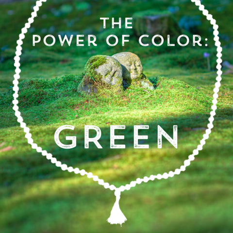 Correspondences and meanings of the color green