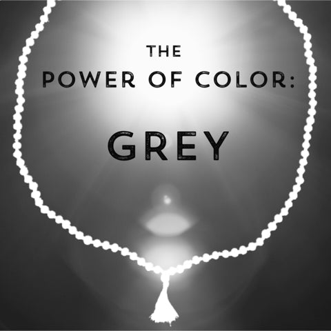 Correspondences and meanings of the color grey