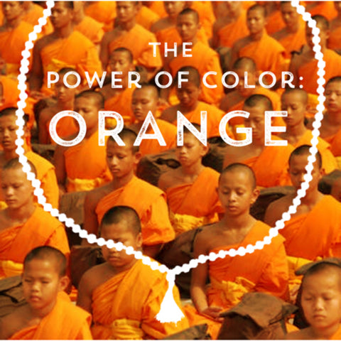 Correspondences and meanings of the color orange