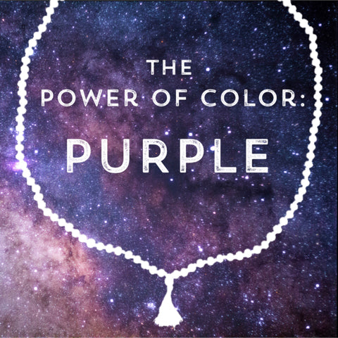 Correspondences and meanings of the color purple
