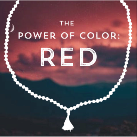 Correspondences and meanings of the color red