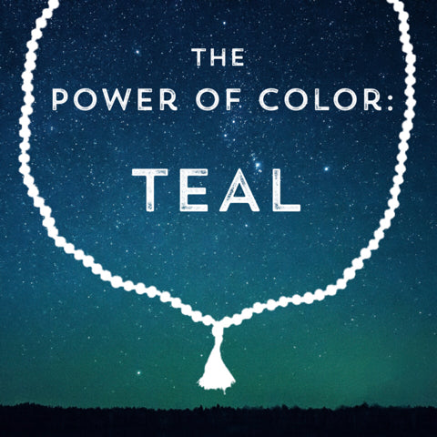 Correspondences and meanings of the color teal