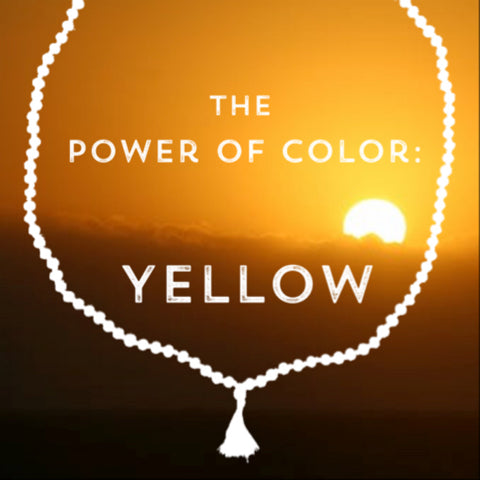 Correspondences and meanings of the color yellow